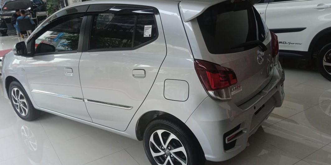Toyota New Agya 1.0 G MT 2019 Alphard Rush Agya Avanza Vios Calya Yaris Fortuner Kijang Innova Hi Lux S E G Q V SRZ VRZ VELOZ 1.2 MT AT 2019