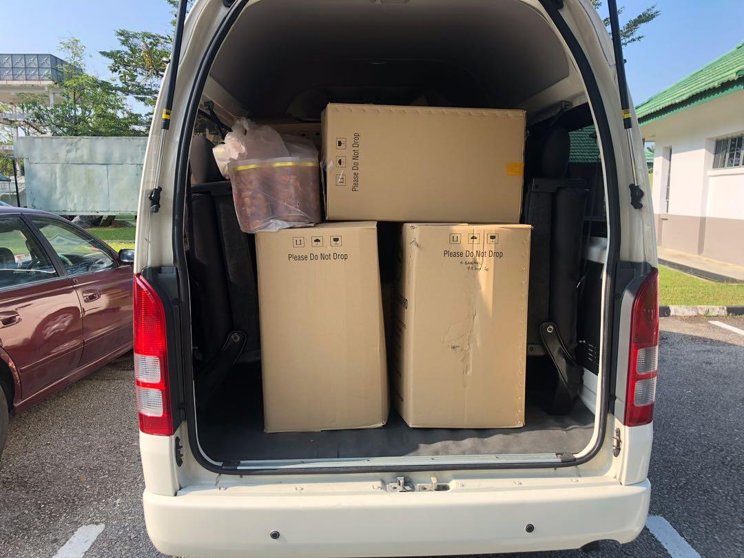 van / bus / klia / airport / hantar barang / good delivery