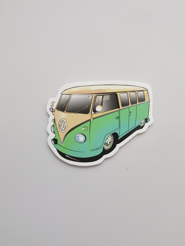 Volkswagen Laptop/Luggage Sticker