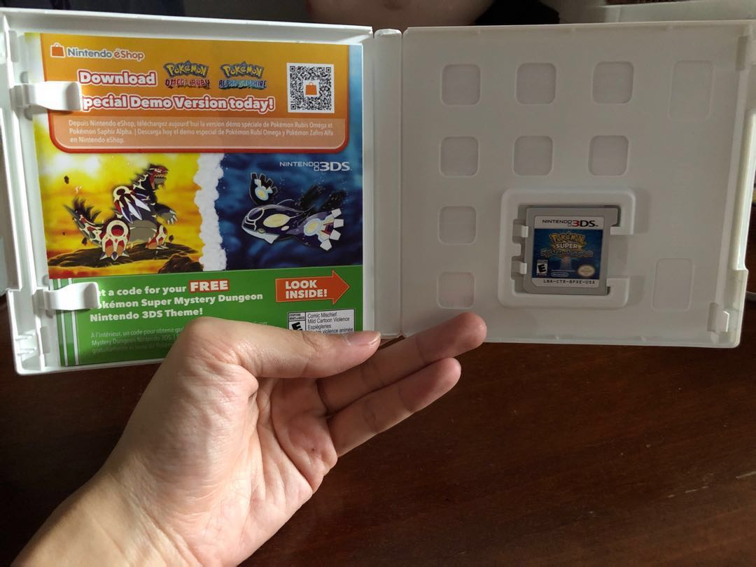 WTS- 3DS Pokemon Super Mystery Dungeon