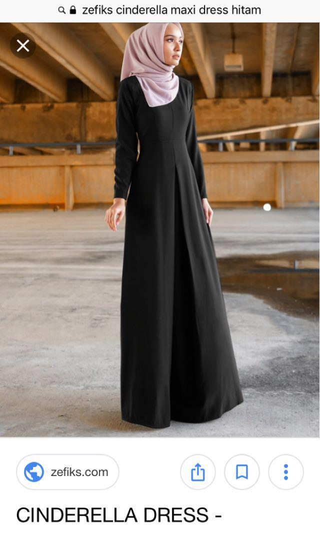 Zefiks Cinderella Maxi Dress / Jubah