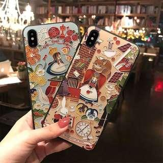 Alice in the wonderland style iPhone Case 愛麗絲夢遊風手機殻