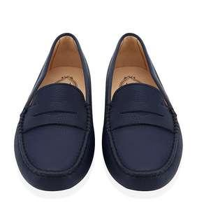 TOD'S Gommino Driving Loafers in Navy/ Dark Blue