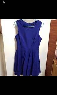 Mgp blue dress in L