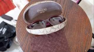 Coach original sun glasses kacamata hitam