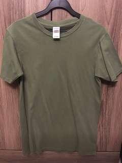 BN gildan olive shirt