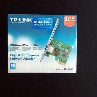 🚚 TP-Link Gigabit PCI Express Network Adapter (TG-3468) - intl