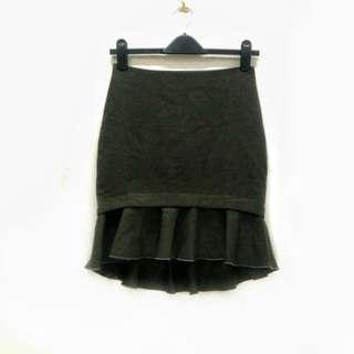 ZARA BASIC Mini Skirt. Made in Spain