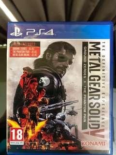 Metal Gear Solid V(Ground Zeroes+Phantom Pain)