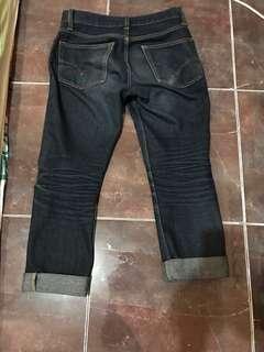 Jeans no brand ( bikin sendiri )