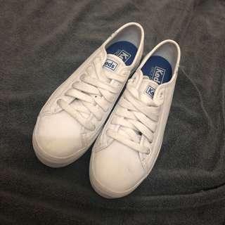 🚚 Keds增高小白鞋