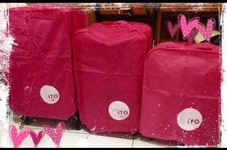 New sarung koper 28 pink