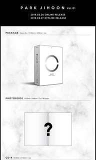 [EMS PO] Park Jihoon O'Clock 1st Mini Album