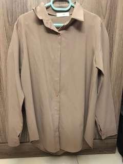 🚚 khaki blouse