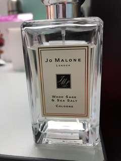 Authentic Jo malone wood sage and sea salt 100ml