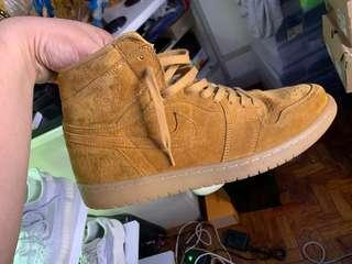 Jordan 1 Wheat