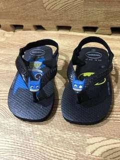 Sandal Havaianas Batman size 22
