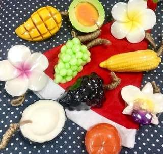 🚚 🇹🇭泰國當紅精油水果香皂