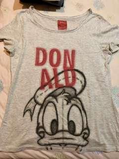 Kaos Zara Disney Donald Duck