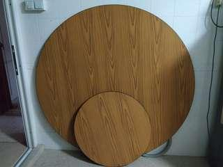 Round Table Top Extender for 12 person
