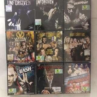 🚚 WWE RAW wrestling VCD/DVD