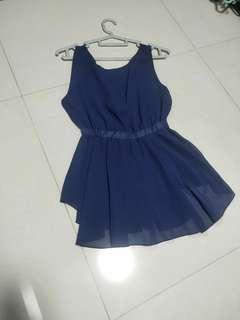 🚚 Blue short dress