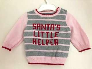 Santa's little helper knitwear