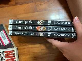 black butler vol 8-10 ENG
