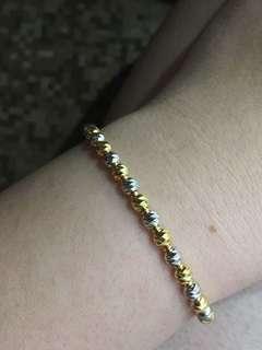 Tianpo Italy beads design 916 bracelet $65 per gram