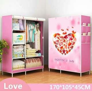 New Korean cloth wardrobe simple wardrobe   -intl