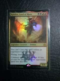 1 x Rakdos, Lord of Riots Guild Kit Foil near mint mtg