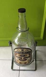 Alcohol Empty Bottle Good Condition