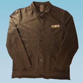 291295=HOMME 日本精品潮牌 褐色罩衫外套