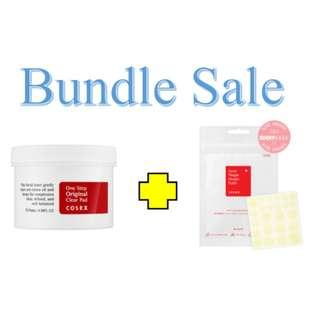 🚚 Bundle Sale Cosrx One Step Original Clear Pads + Cosrx Acne Pimple Master Patch