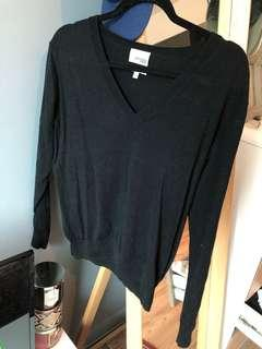 Wilfred Free/Aritzia v-neck sweater