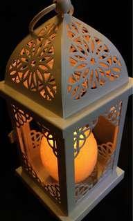 Portable Led Lantern Decorative White