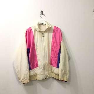 🚚 VINTAGE 80s COLOURBLOCK SFIFA WINDBREAKER