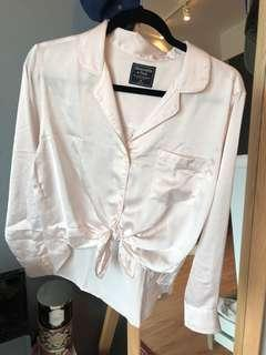NEVER WORN Abercrombie silky top