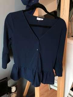 NEVER WORN Frank and Oak blouse