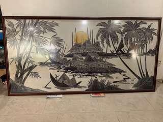 Batik Painting