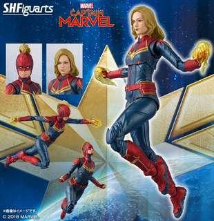 *Pre Order* S.H. Figuarts Captain Marvel JP MISB