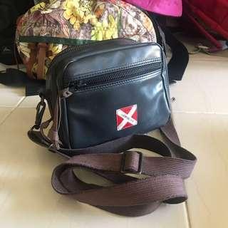 Luggage Label Sling Bag