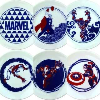 ⚠️需預購⚠️ MARVEL 復仇者聯盟醬油碟小盤子
