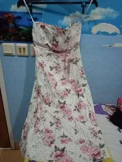 Flower Dress Tube size M