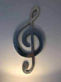metal music note