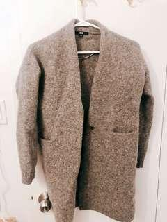 Uniqlo Grey Cardigan