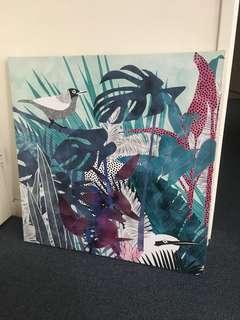 Bird Canvas Print Decor
