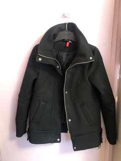 H&M high collared jacket