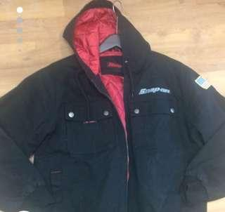 Snap-on lined jacket