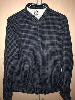 🚚 藍格紋襯衫